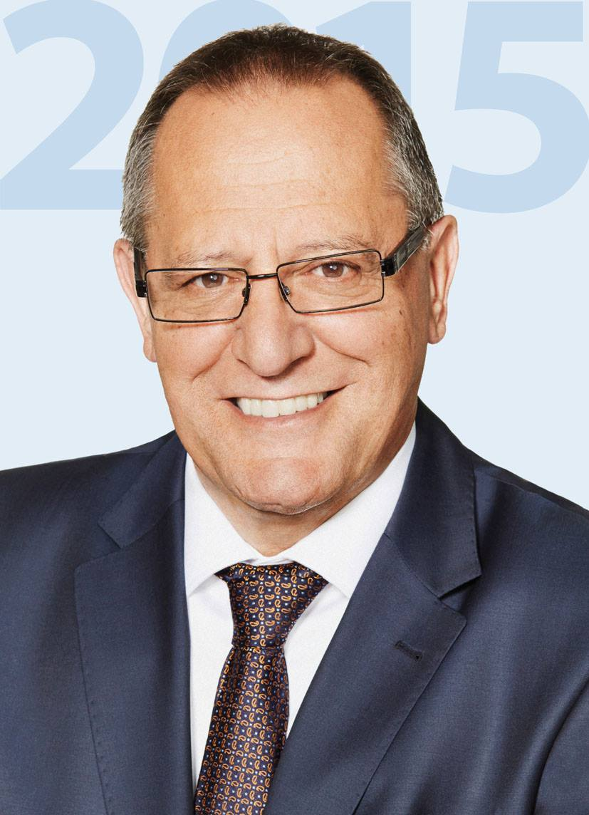 Oberbürgermeister Walter Heiler