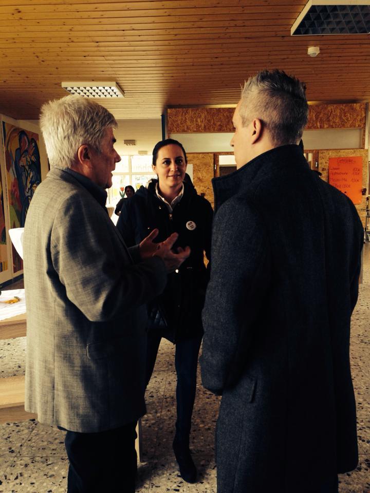 Günther Matjeka, Saskia Heiler, Marcel Kreuzer (vn links)